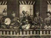 Syrian music band from Ottoman Aleppo, mid 18th century
