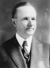 Calvin Coolidge, President of the United States of America.