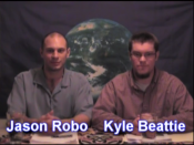 English: Screenshot from Unstacking the Deck with Jason Robo and Kyle Beattie episode four on Censorship.