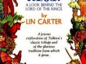 Tolkien: A Look Behind