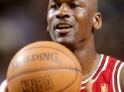 English: Chicago Bulls. Michael Jordan 1997