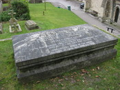 English: *Description: Mary Shelley's tomb in Bournemouth Source: Own Work Date: Jan 2008