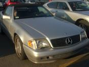 Mercedes-Benz SL500 photographed in Montreal, Quebec, Canada. Category:Mercedes-Benz R129