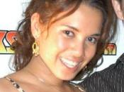 American pornographic actress Renae Cruz
