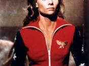 Cathy Lee Crosby as Diana Prince in the pilot movie 1974.