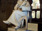 A statue of Joule in the Manchester Town Hall