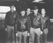 English: Doolittle Tokyo Raiders, Crew No. 1 Crew No. 1 (Plane #40-2344, target Tokyo): 34th Bombardment Squadron, Lt. Col. James H. Doolittle, pilot; Lt. Richard E. Cole, copilot; Lt. Henry A. Potter, navigator; SSgt. Fred A. Braemer, bombardier; SSgt. P