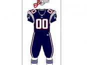 All-blue uniform combination worn for games versus Packers and Broncos.