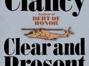 Cover art for Clear and Present Danger