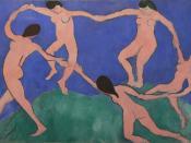 Henri Matisse, The Dance I, 1909, Museum of Modern Art. One of the cornerstones of 20th century modern art.