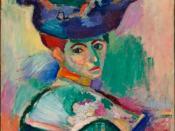 Henri Matisse. Woman with a Hat, 1905. San Francisco Museum of Modern Art.