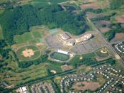 English: Aerial photo of Wayzata High School; Plymouth, Minnesota, USA.