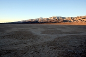 Dry lake bed in Death Valley National Park