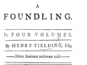 The History of Tom Jones, a Foundling (1749) by Henry Fielding (1707-1754)