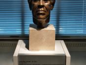 Sara S. Miller's 1994 Bronze Portrait Bust Of Gwendolyn Brooks (Washington, DC)