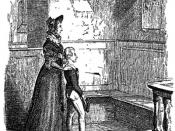 Rose Maylie and Oliver Twist, drawn by George Cruikshank.