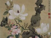 Painting by the Chinese Ming Dynasty artist Chen Hongshou (1599-1652), leaf from an album of miscellaneous paintings.