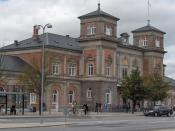 Aalborg railway station, Denmark