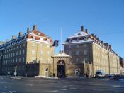 DSB headquarters in Copenhagen.