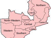The provinces of Zambia