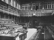 British House of Commons.