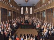 English: The House of Commons in Session