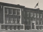 Fairview Avenue School in Grandview, 1917