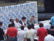 English: Presentation from left, Roberto Carlos, the Corinthians Português: Apresentação do lateral esquerdo, Roberto Carlos, no Corinthians