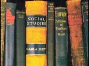 Social Studies (Carla Bley album)