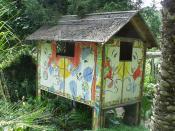 Giardino Botanico - Fondazione Andre Heller - Gardone Riviera - pond house by Edgar Tezak