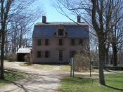 English: The Old Manse (former home of Rev. William Emerson, Ralph Waldo Emerson, and Nathaniel Hawthorne) in Concord, Massachusetts.