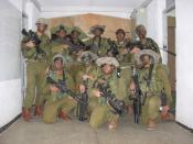 English: preparing for night raid,