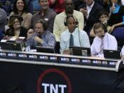 Reggie Miller serves as an NBA analyst for TNT