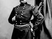 English: General George B. McClellan.