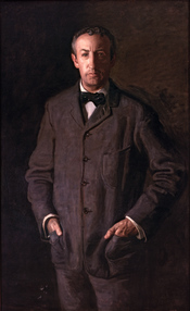 English: Portrait of William B. Kurtz by Thomas Eakins.