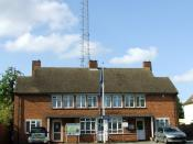 English: Police station Community Policing Team station, off Cambridge Road.