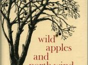 English: Photograph of the cover of the 1966 Lorna Beers memoir, Wild Apples and North Wind