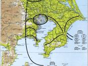 English: Operation Coronet, part of Operation Downfall Source: http://maps.library.umass.edu/raster/other_historical/images/genmac_gif/GenMac_124.gif from http://maps.library.umass.edu/raster/other_historical/genmac.html Originally from