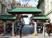 English: Chinatown San Francisco gateway arch 2010 California
