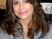 English: Paula Abdul attending L.A. Fashion Week at Smashbox Studios, Culver City, CA on March 22, 2007 - Photo by Glenn Francis of www.PacificProDigital.com
