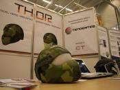 Z Corporation - ZPrinter - 3D printed military helmet 25