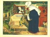 Franz Jüttner (1865–1925): Illustration from Sneewittchen, Scholz' Künstler-Bilderbücher, Mainz 1905