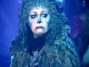 Elaine Paige as Grizabella in the 1998 Cats video.