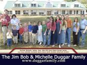 The family of Jim Bob Duggar.