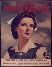 RED CROSS VOLUNTEER NURSE'S AIDE - NARA - 515287