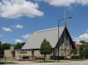 English: Hartzell Memorial United Methodist Church at Bronzeville in Chicago, USA.