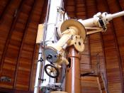 Refractor at the Observatory in Aachen, Germany.
