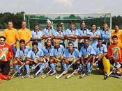 English: Indian Hockey team