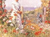 Celia Thaxter in Her Garden