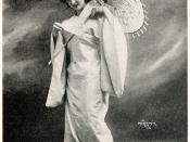 Florence Easton as Cio-Cio-San in Madama Butterfly, Metropolitan Opera Company